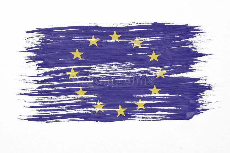 L'UE diminuent illustration libre de droits