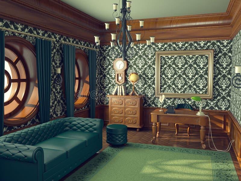 L'ufficio royalty illustrazione gratis