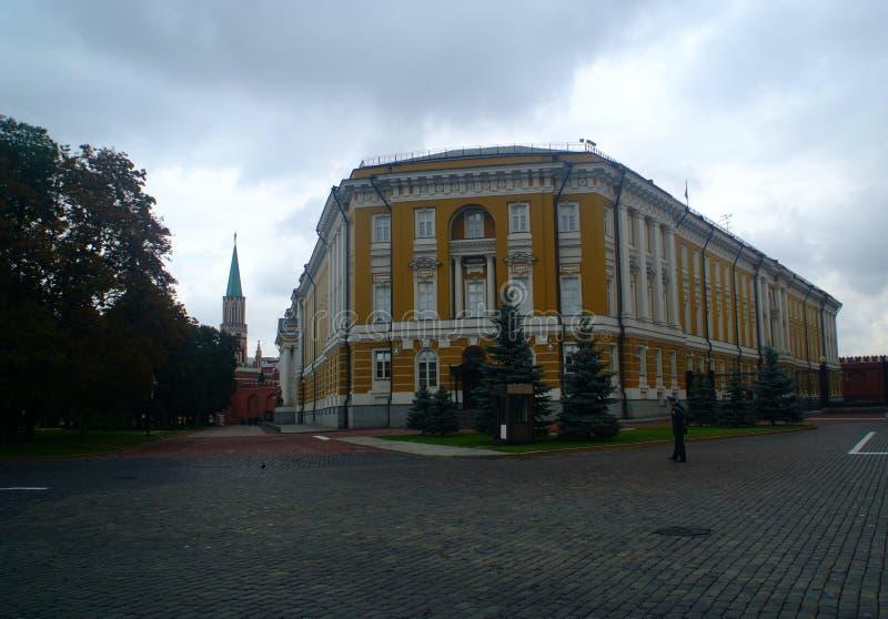 L'ufficio presidenziale russo di kremlin immagine stock libera da diritti