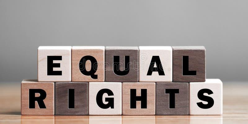 L'uguale radrizza il concetto immagine stock libera da diritti