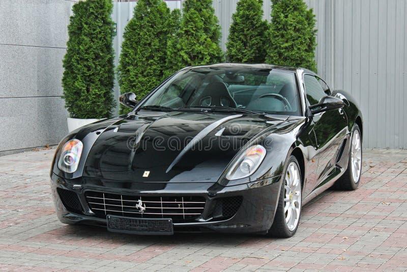 L'Ukraine, Kiev ; Le 2 septembre 2013 ; Ferrari 599 GTB Fiorano images stock