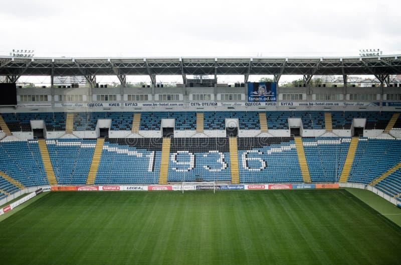 l'Ukraine, Odessa 24 septembre 2017 Stade de Chernomorets photographie stock libre de droits