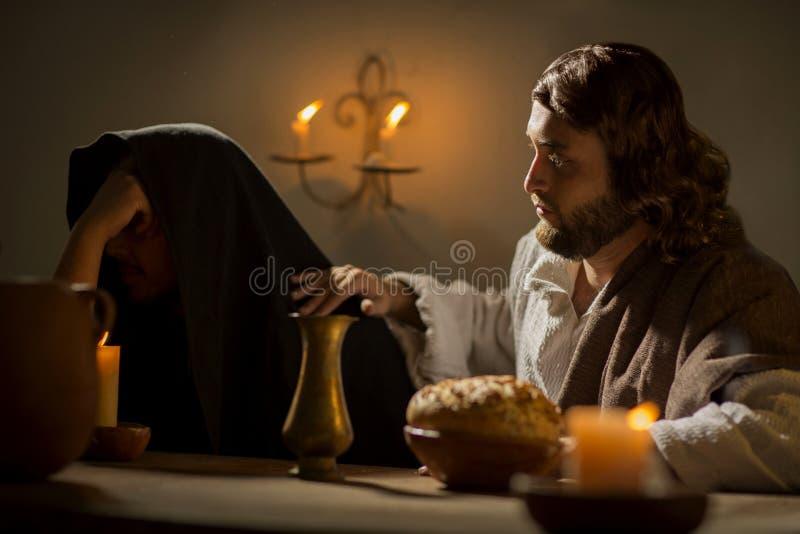 L'ultima cena di Jesus Christ fotografia stock