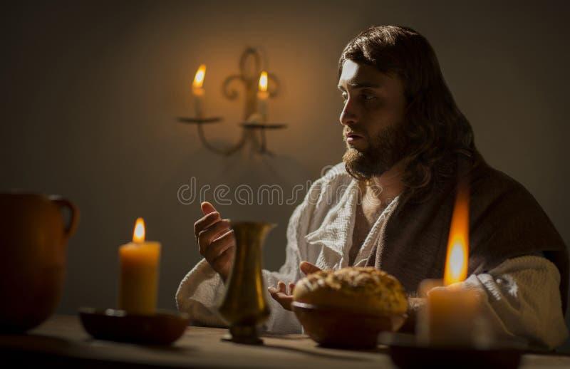 L'ultima cena di Jesus Christ immagine stock