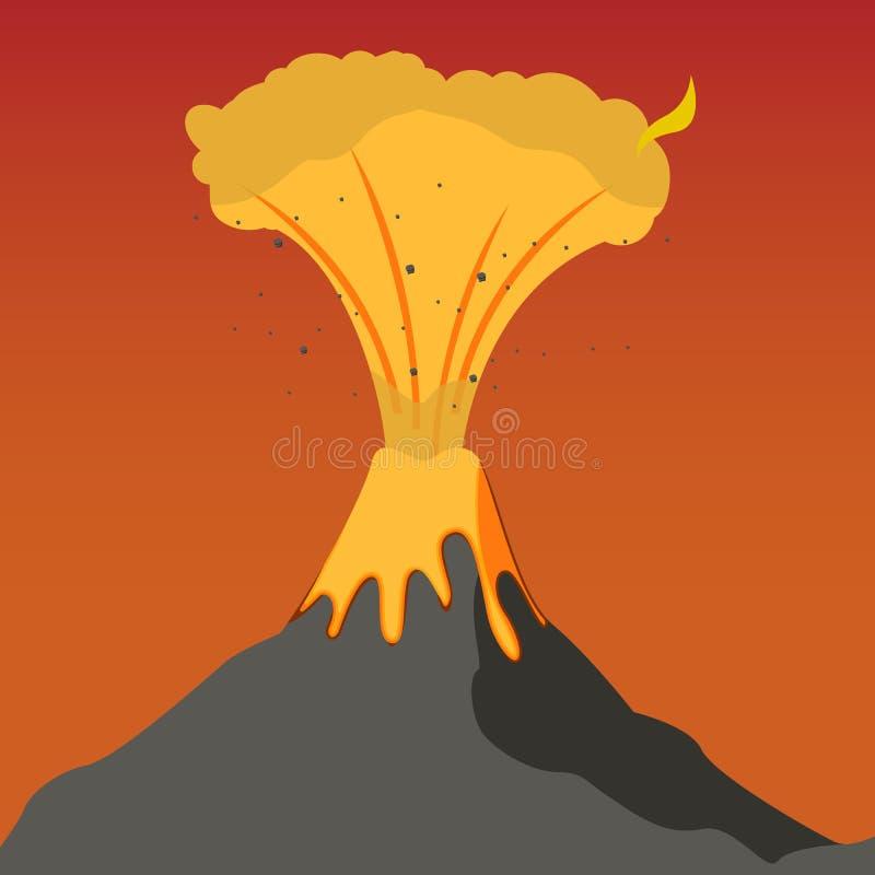 L'umanità naturale di disastro di clima di concetto royalty illustrazione gratis