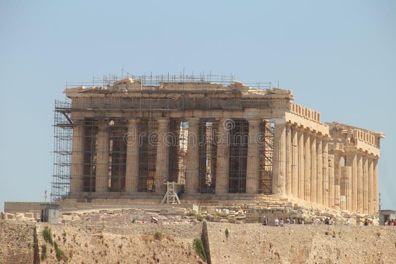 """L'UNESCO """"de vallon de patrimonio d'Acropoli di Atene """"de sull de l'IL Partenone images libres de droits"""