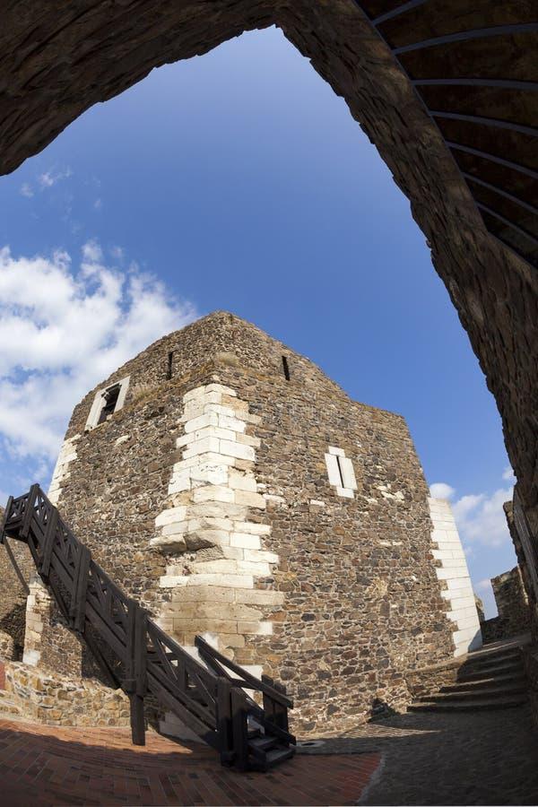 l'ungheria Castello medievale del XIII secolo fotografia stock