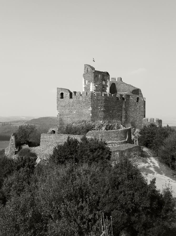 l'ungheria Castello medievale del XIII secolo immagine stock
