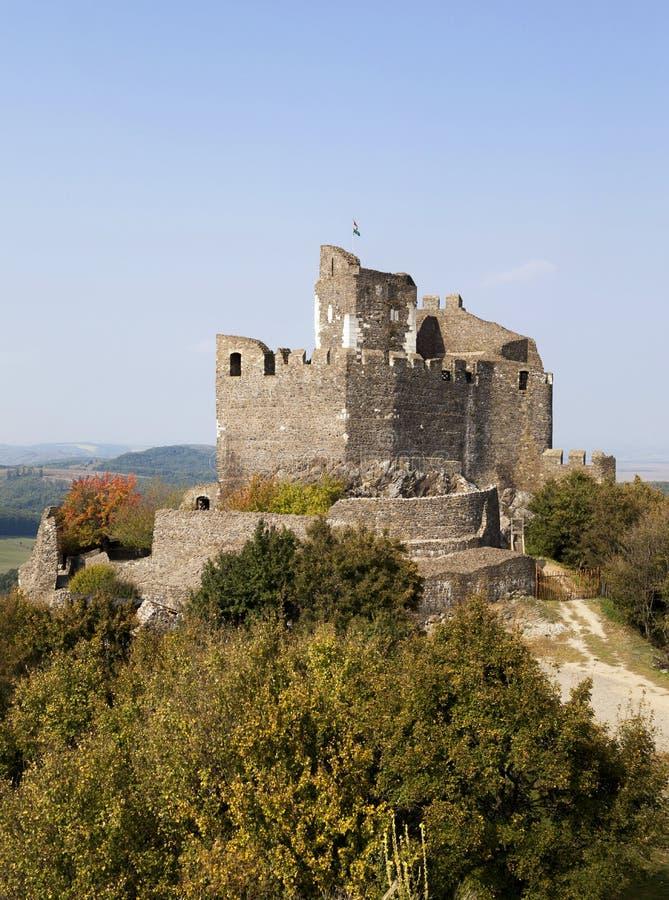 l'ungheria Castello medievale del XIII secolo fotografia stock libera da diritti