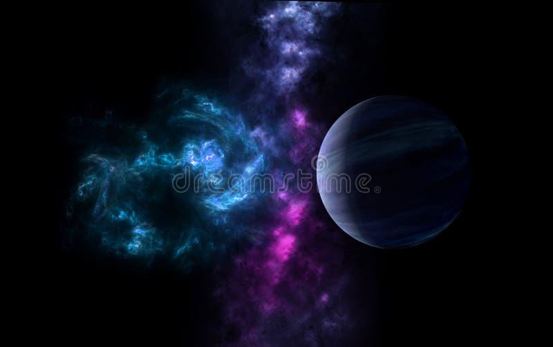 L'univers tous les matière et espace existants a considéré dans son ensemble le cosmos image stock