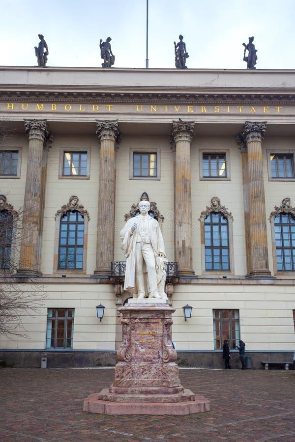 L'università di Humboldt di Berlino è una univ del ` s di Berlino di più vecchio immagini stock