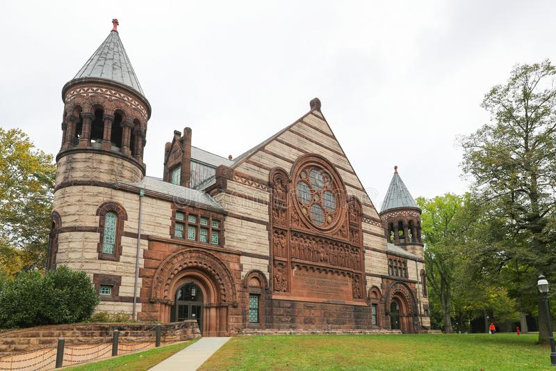 L'università di Princeton è Ivy League University privata nel New Jersey, U.S.A. fotografie stock libere da diritti