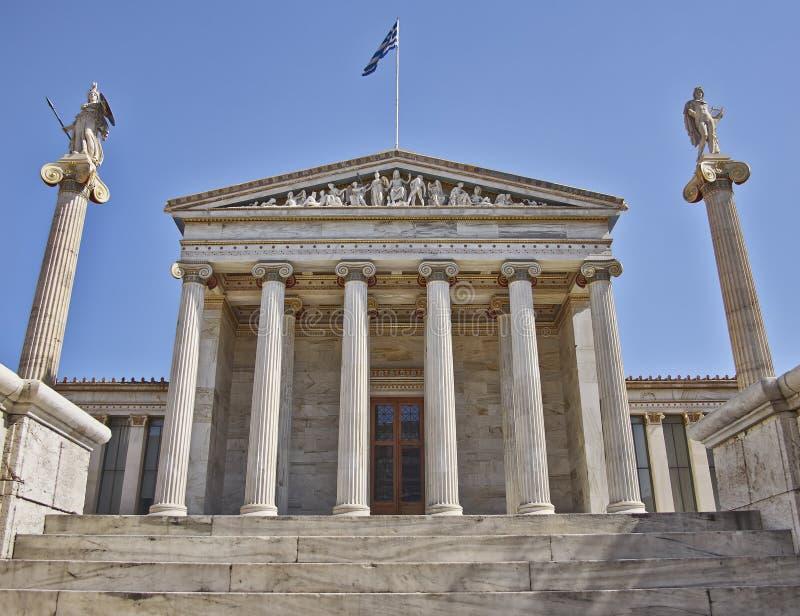 L'università nazionale di Atene immagini stock