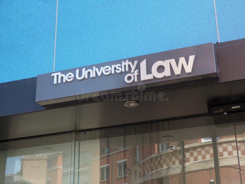 L'université de la loi construisant Nottingham photo stock