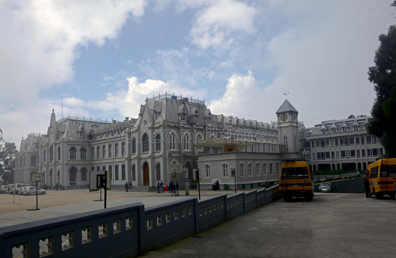 L'université de St Joseph, Darjeeling, Inde photos stock