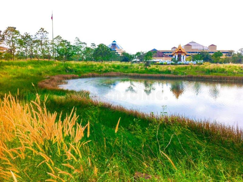L'université de technologie des mongkut de roi le nord Bangkok images stock