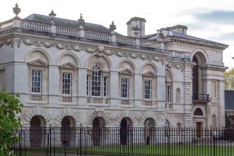 L'université du roi décrite le 23 mai 2013 à Cambridge, Angleterre image libre de droits