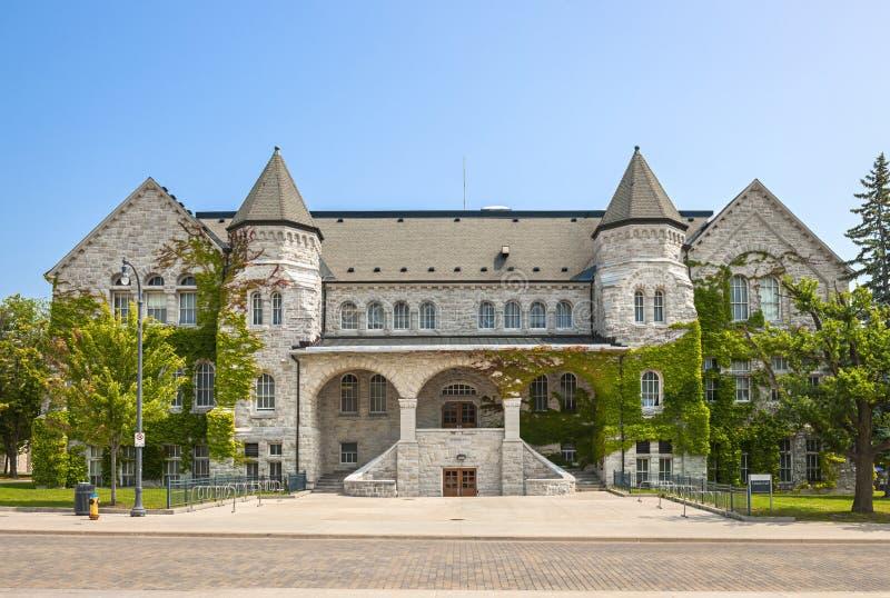 L'université Ontario Hall de la Reine image libre de droits