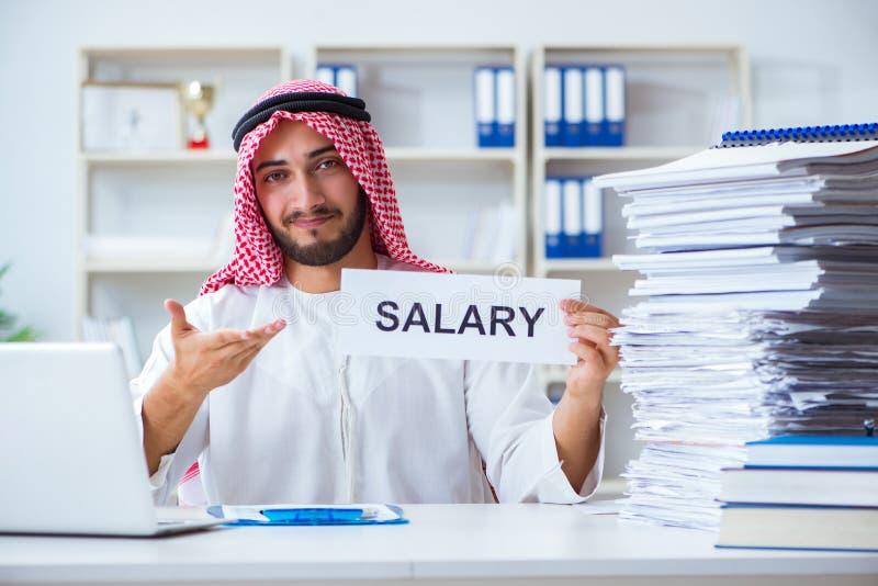 Download L'uomo Arabo Che Si Siede Allo Scrittorio Con Il Messaggio Fotografia Stock - Immagine di carte, ufficio: 117976102