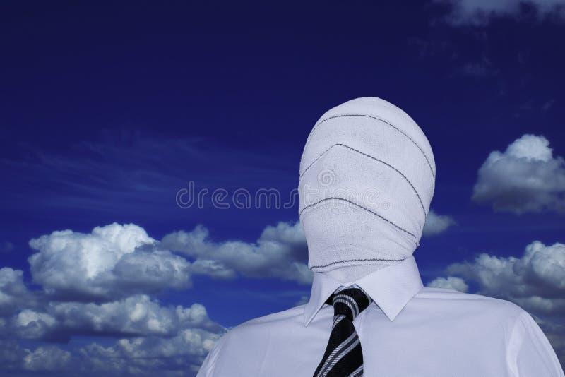 L'uomo invisibile fotografie stock