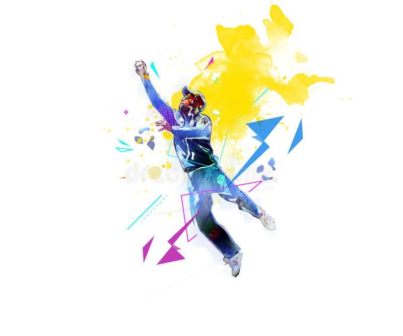 L'uomo sta prendendo la palla negli sport di campionato del cricket fotografie stock libere da diritti