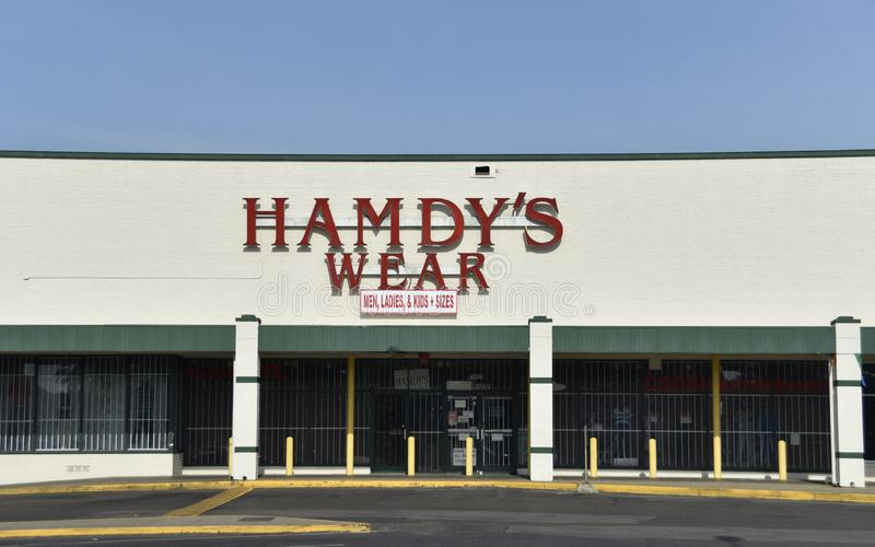 L'usage d'hommes de Hamdy, Memphis, TN photo libre de droits