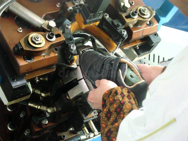 L'usine de chaussure images stock