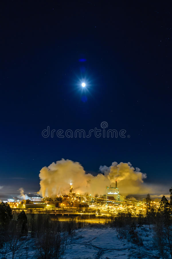 L'usine rêveuse images stock