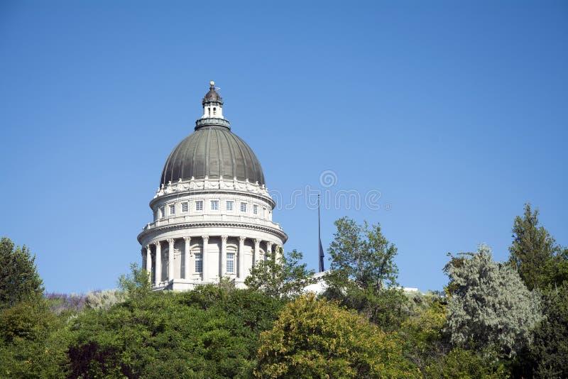 L'Utah stato capitol costruzione 23 luglio 2015 immagine stock libera da diritti