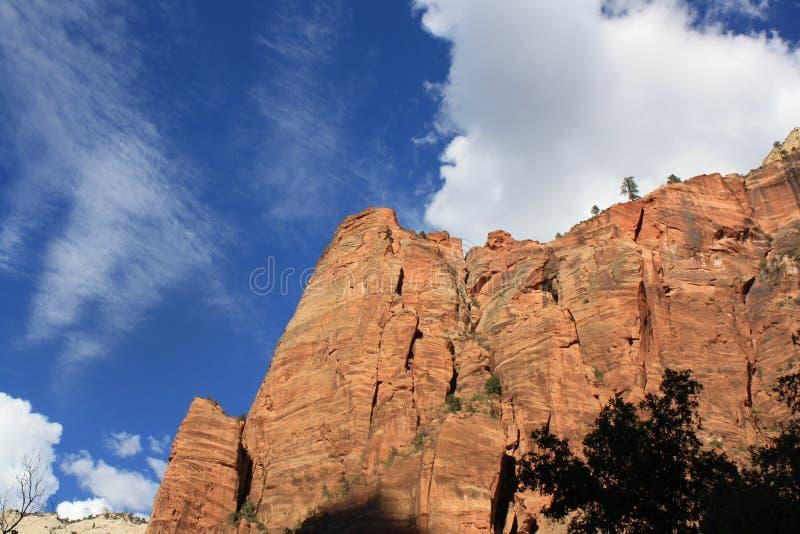 L'Utah Zion National Park images libres de droits