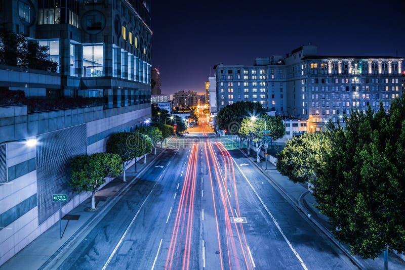L.A. van de binnenstad. stock foto
