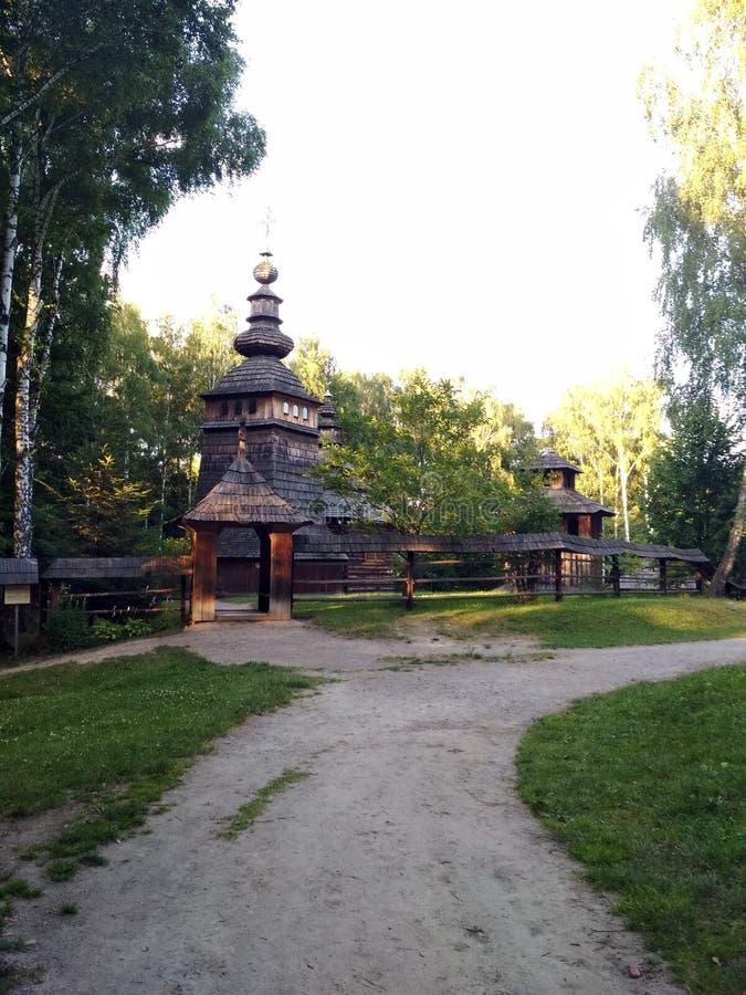 L ` viv Landschaften der Flora und Fauna von Parkbereichen der Hauptstadt von West-Ukraine lizenzfreie stockfotografie