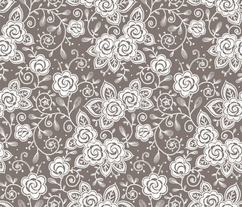 Laço branco ilustração royalty free