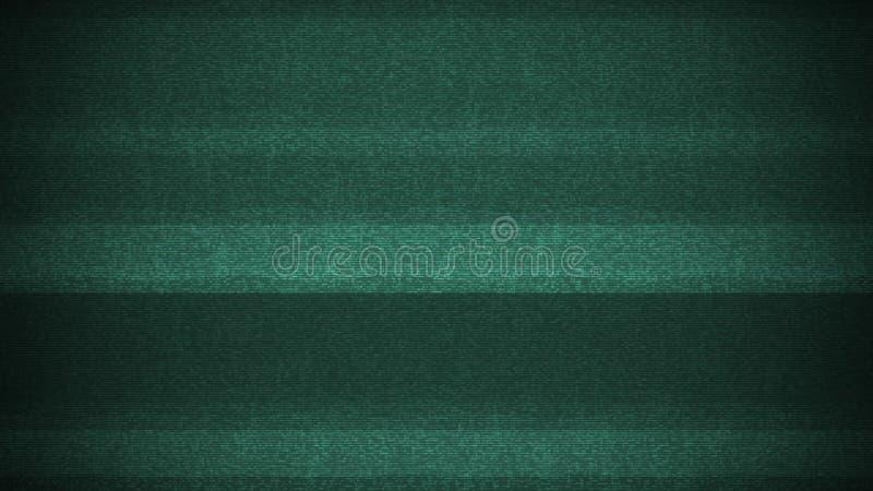 Laço brilhante do fundo da interferência de ruído do pulso aleatório do painel LCD para a tecnologia digital da contração muscula fotografia de stock royalty free