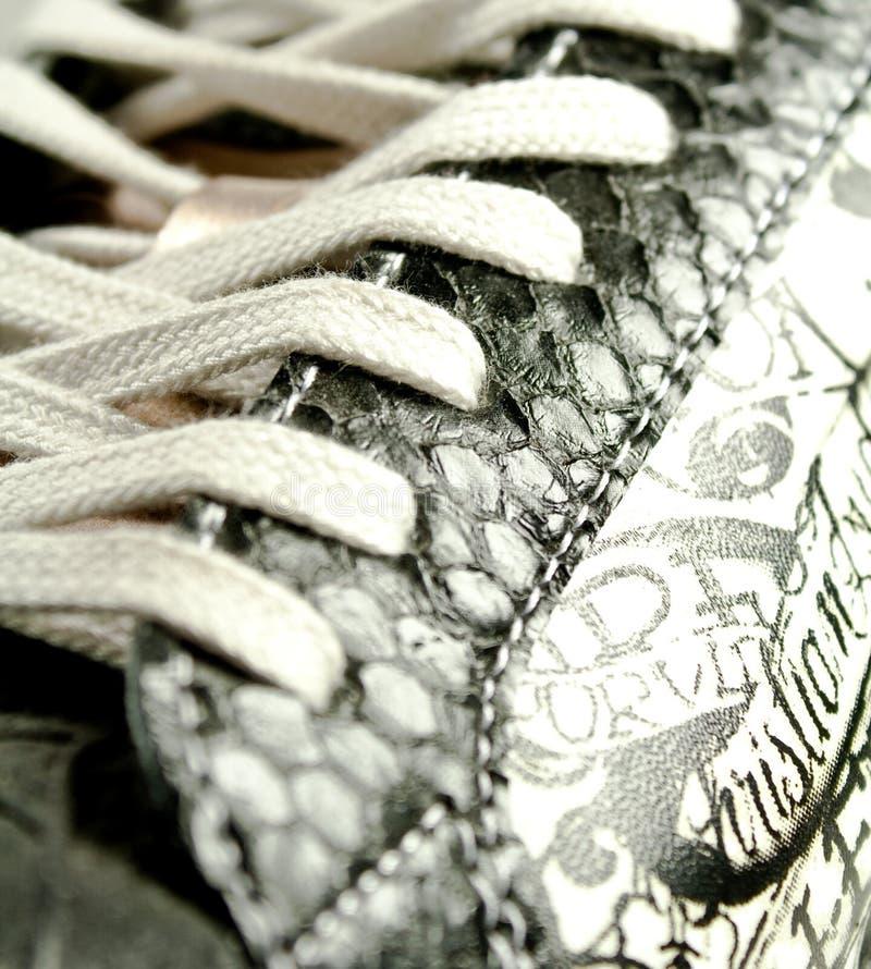 Laço de sapata imagem de stock