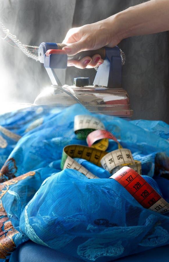 Laço do azul passando fotos de stock