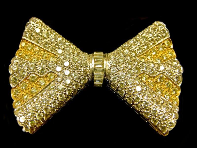 Laço dourado imagens de stock