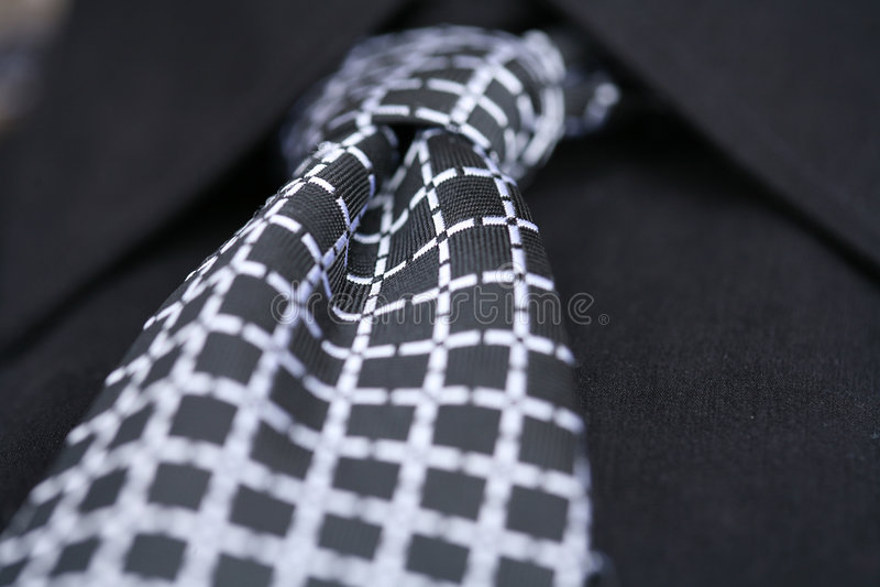 Laço e camisa fotografia de stock royalty free
