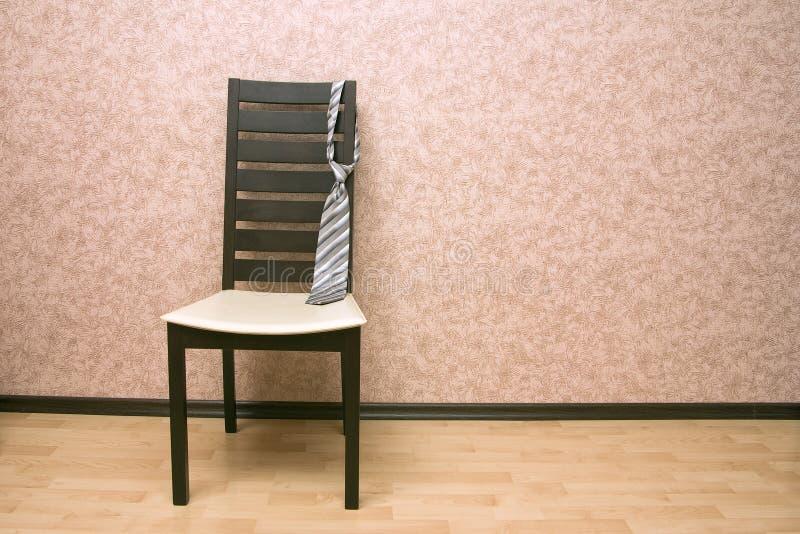 Laço na cadeira foto de stock royalty free
