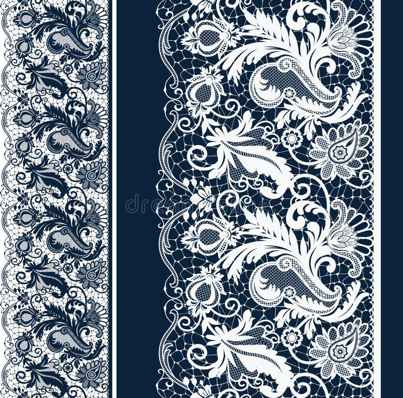 Laço sem emenda branco e preto ilustração stock