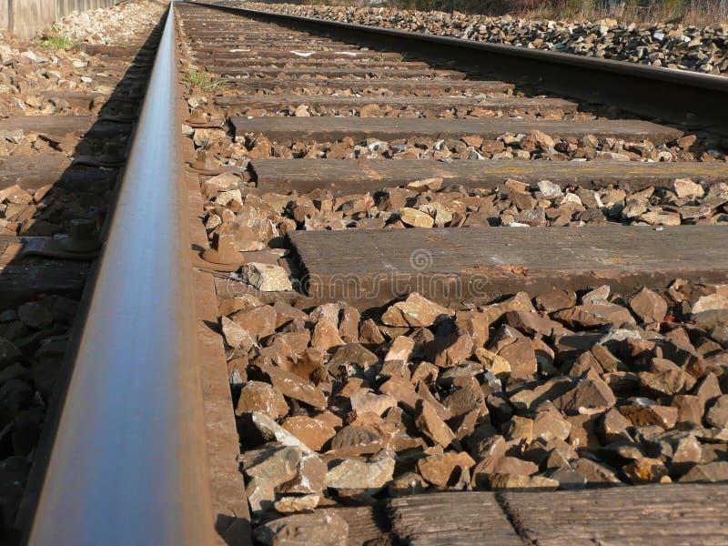 Laços do caminho de ferro e de estrada de ferro imagem de stock royalty free