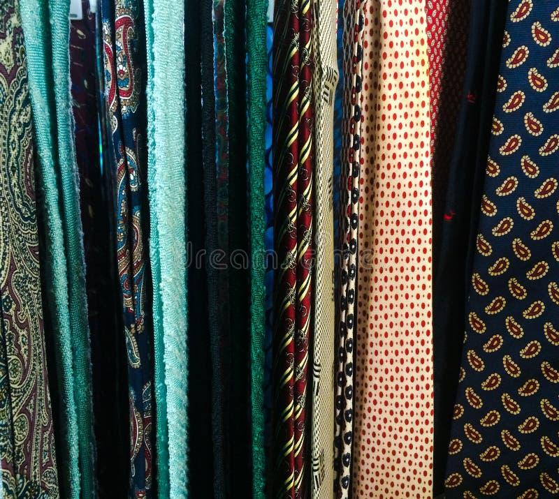 Laços do pescoço do vintage imagens de stock