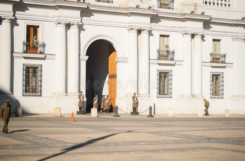 La现在莫内达宫殿或香港礼宾府国家历史文物 免版税库存图片