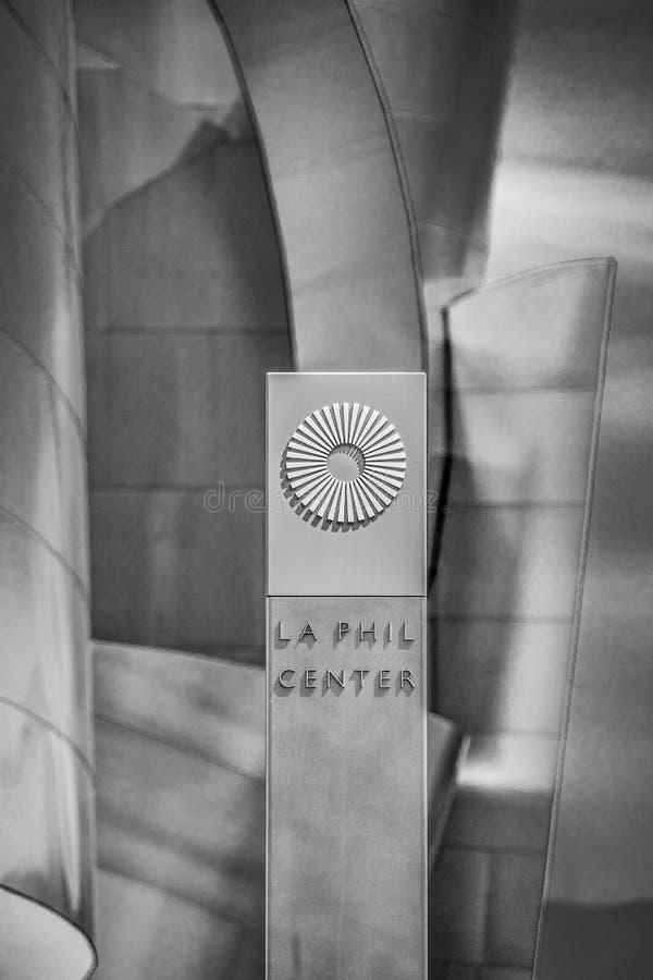LA菲尔中心-加利福尼亚,美国- 2019年3月18日 免版税库存照片