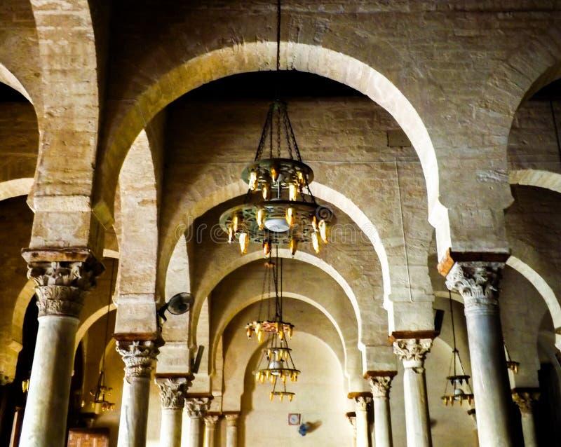 La重创的mosquée 库存照片