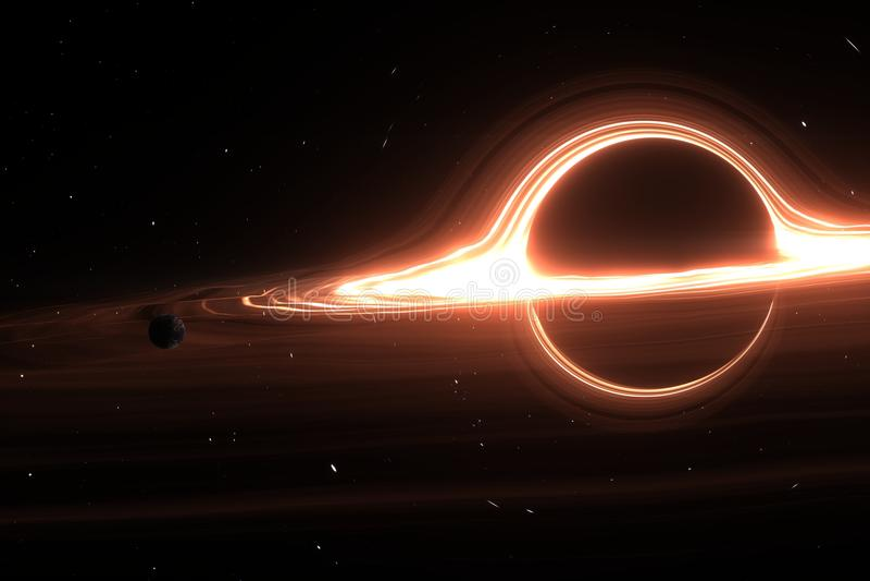 La órbita del planeta el calabozo gigante libre illustration