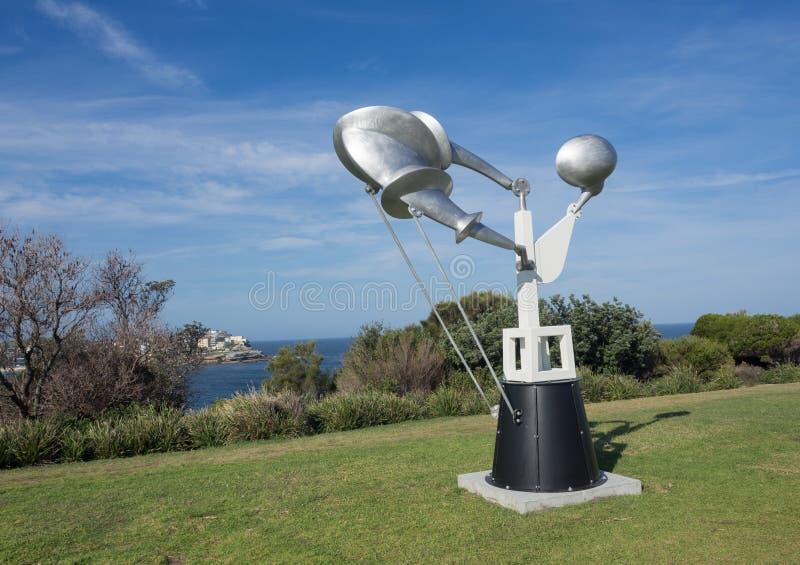 La 'federación 'es ilustraciones esculturales de Geoffrey Bartlett en la escultura por los acontecimientos anuales del mar libres foto de archivo libre de regalías