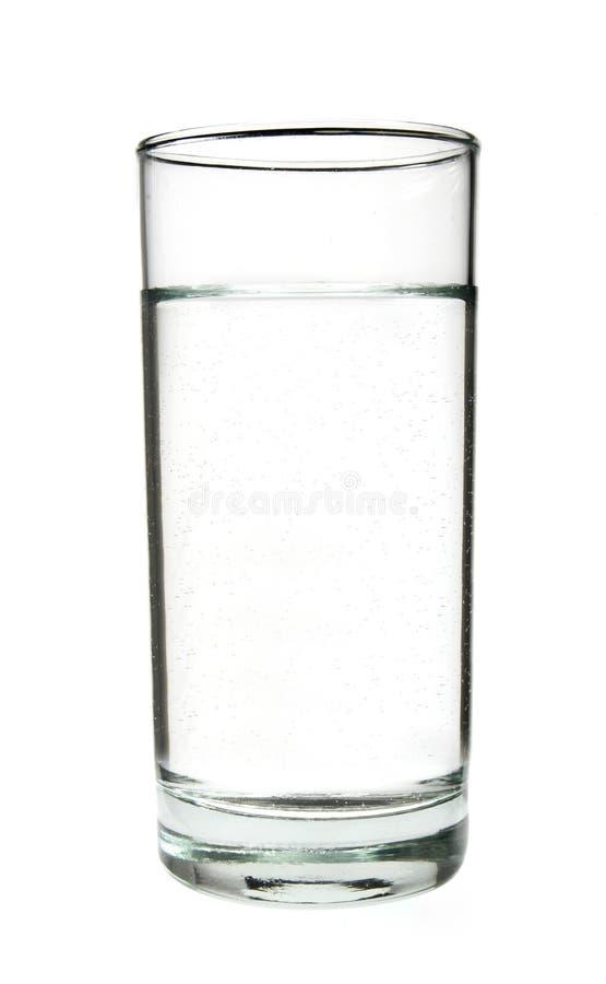 la 1 eau en verre photographie stock