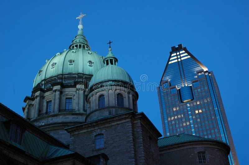 La 1000 del de gauchetiere Montreal immagine stock libera da diritti