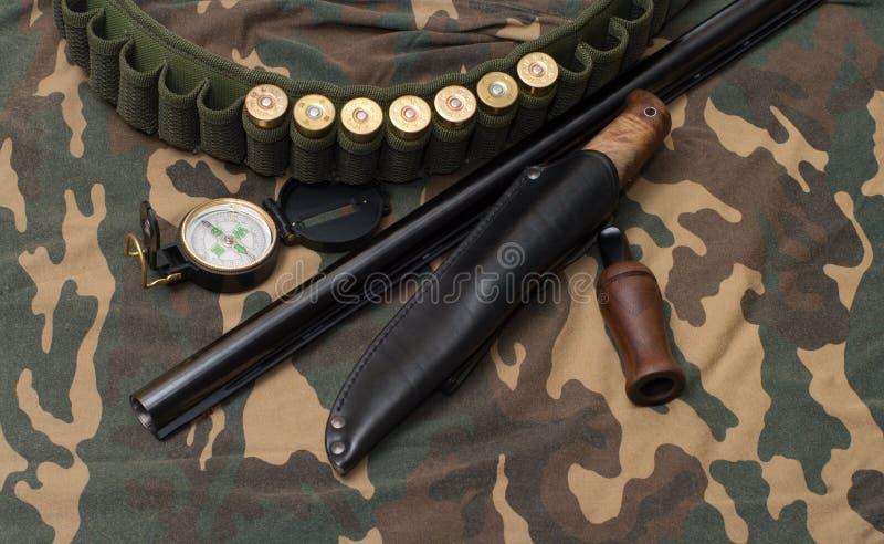La aún-vida de la caza. imagen de archivo libre de regalías
